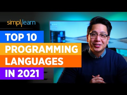 Top 10 Programming Languages In 2021| Best Programming Languages To Learn In 2021 | Simplilearn