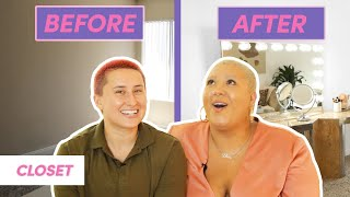 Our Extreme Closet Makeover • Moving In Together