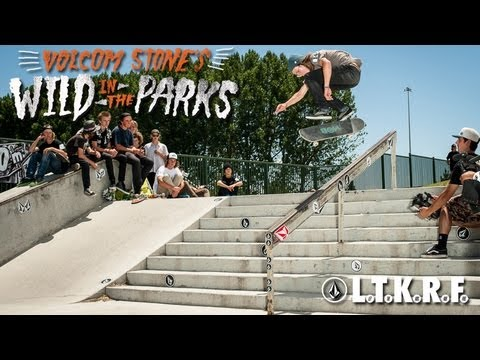 Stop #4 Volcom Stone's Wild In The Parks Greenwood Skatepark American Fork, UT