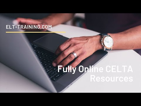 FREE Resources for fully online CELTA - YouTube