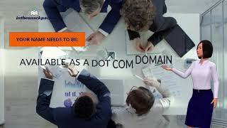 I will formulate your perfect and evocative business domain name with social media availability report