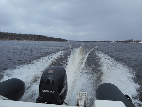 По белому морю на катере Water way 2017