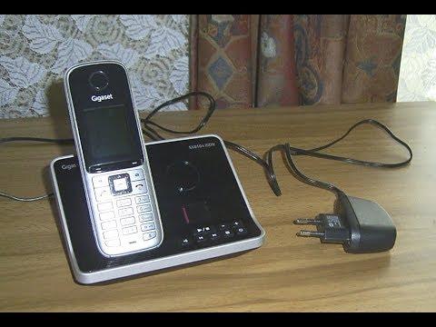 Funktionsprüfung Telefon  Gigaset SX 810A ISDN   mit Mobilteil S810H