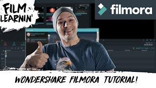 Wondershare Filmora Tutorial! | Film Learnin