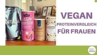 Das beste vegane Protein für Frauen - GymQueen, Vivolife Ritual, Innonature, Your Superfood im Test