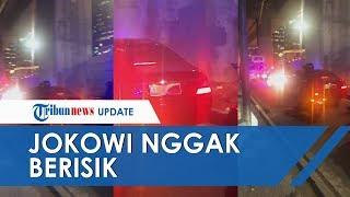 Cerita Perekam Video Mobil Presiden yang Terjebak Macet: Jokowi Nggak Berisik