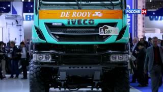 Смотреть онлайн Автосалон в Ганновере 2014: потрясающие грузовики