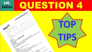 Top Tips: Question 4 Paper 1