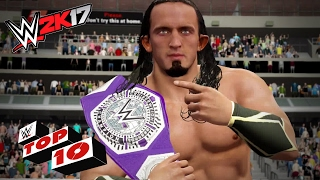 Check out The101's latest WWE 2K17 Top 10 video in partnership with WWE
