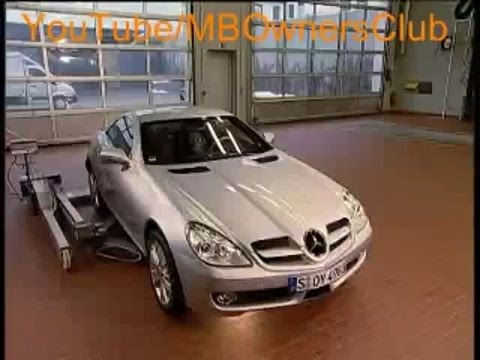 Mercedes-Benz SLK | removal of the front bumper (R171)