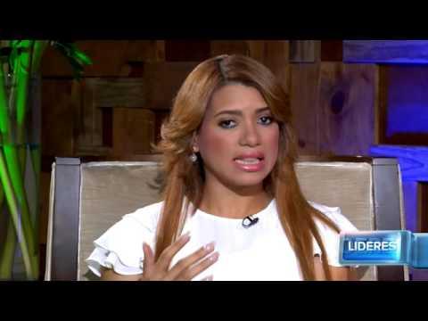 Líderes 17/4/2016: Entrevista a Kimberly Taveras, Gloria Reyes y Kelvin Cruz