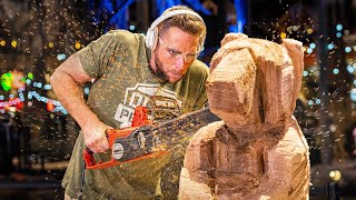 Chainsaw Carving Competition   OT 29