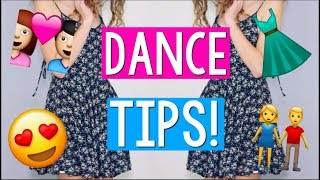 Middle School Dance Advice! Dress shopping, Boys, Friends, Slow dancing, and more!