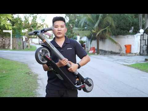 Review Ninebot ES2 Kickscooter
