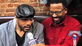 RICKY HARRIS Interview Barber World TV @ Levels Barbershop Kamal Nuru Zoe Mega Millions