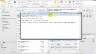 Ms.Outlook | Remove duplicate email in outlook
