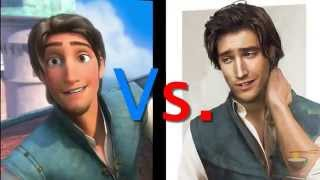Flynn Rider In Real Life And Movie (Tangled)