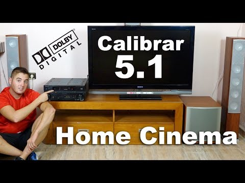 Cómo configurar Home theater 5.1 | Conectar Home Cinema a la tv | Guía General
