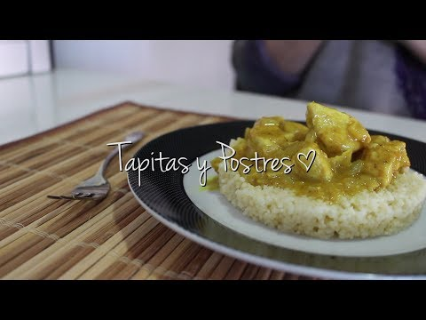 Recetas Fáciles: Pollo al Curry con Cous Cous