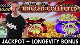 JACKPOT + LONGEVITY BONUS 💰 Double Bonus at Choctaw Durant #ad
