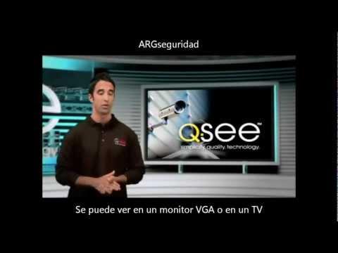 Caracteristicas Grabadores Digitales QSEE DVR Kit Vigilancia de 4, 8 y 16 canales argseguridad