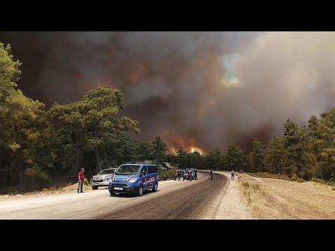 Σε πύρινο κλοιό η Ευρώπη: Πυρκαγιές μαίνονται σε Τουρκία, Ιταλία, Βοσνία…