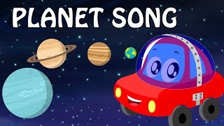 Planet Song | Nursery Rhymes Video For Kids