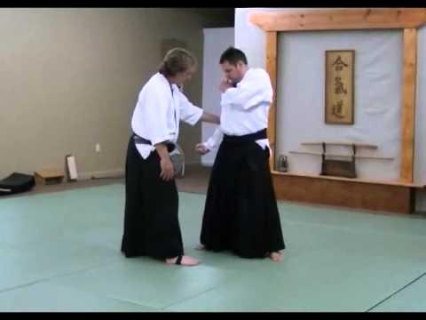 Sokumen Irimi Nage (unbendable arm) 2015  Takama Hara Aikido