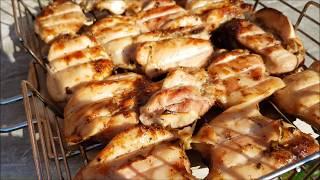 Шашлык из курицы маринад сочный как это