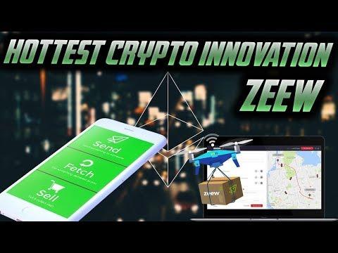 ICO - Review- Zeew - Robots, Drones & AI Blockchain Delivery platform