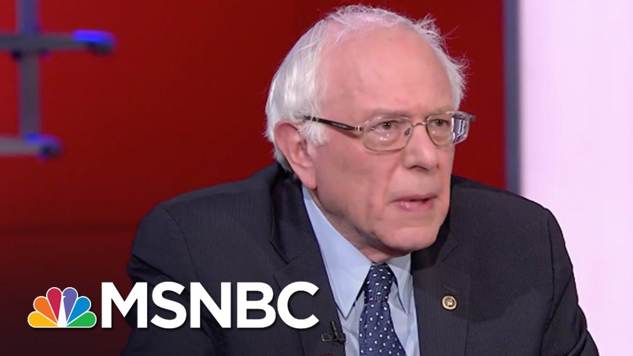 Bernie Sanders Knocks Donald Trump's Scapegoating Strategy | Rachel Maddow | MSNBC thumbnail