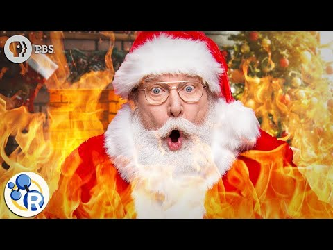Should Santa Wear a Flame Retardant Suit?