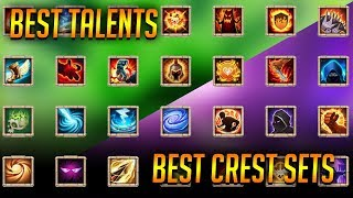 Explaining Best Talent And Crest Sets For Most Heroes Castle Clash
