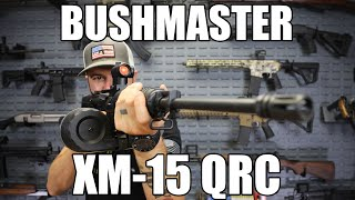 "Bushmaster 91046 QRC SA 223 Rem/5.56 NATO 16"" FH 30+1 Red Dot 6Pos Stock Black"