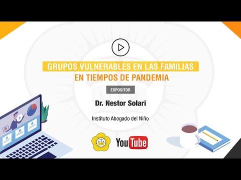 GRUPOS VULNERABLES EN LAS FAMILIAS EN TIEMPOS DE PANDEMIA