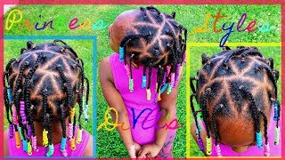 Triangle Single Braids | Childrens Natural Hair Care