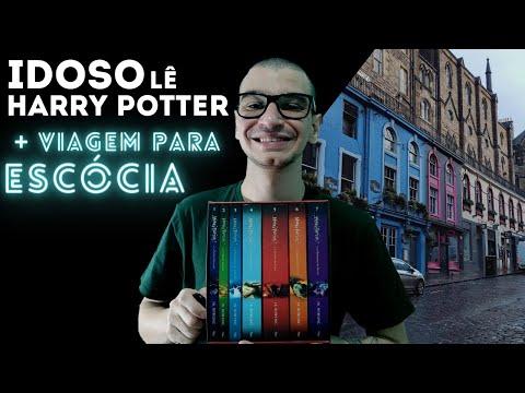 IDOSO LÊ HARRY POTTER | LENDO HP AOS 22 ANOS