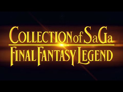 Bande-annonce officielle du TGS de Collection of SaGa: Final Fantasy Legend
