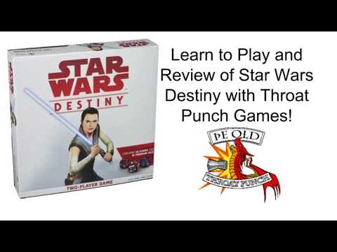 Ring Side Report- Board Game Review of Star Wars Destiny