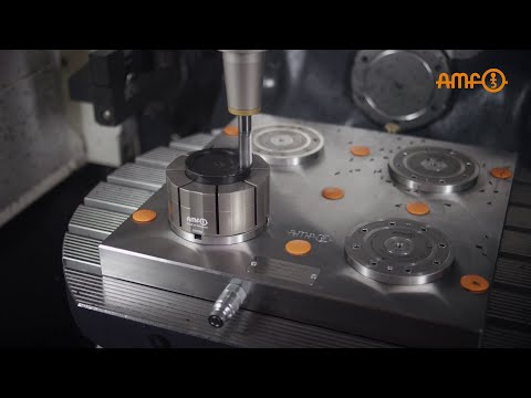 Zero-point clamping technology and collet - Efficient clamping of complex workpiece geometries