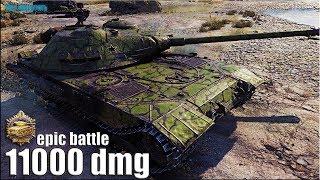ВЫСШИЙ СКИЛЛ на К-91 🌟 11000 dmg 🌟 World of Tanks как играют статисты