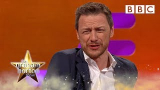 Why James McAvoy Shaved His Balls… ⚽⚽😳 - BBC