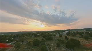 August Sunset   FPV Flight