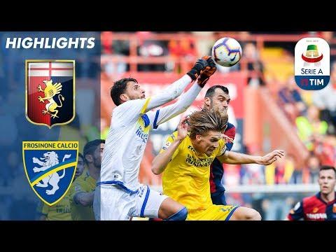 Genoa 0-0 Frosinone | Ten-Man Frosinone Earn a Hard Fought Point | Serie A