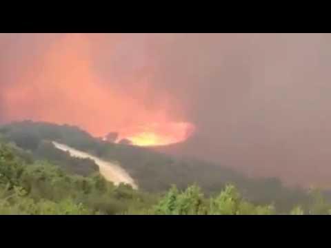 Incendio Navarra 2016