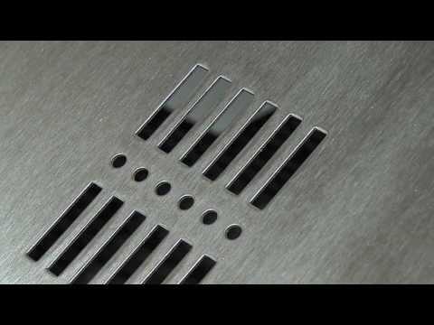 satinage tôles en acier inox - CMM Laser
