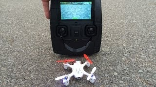 Hubsan X4 FPV Mini Quadcopter Maiden Flight