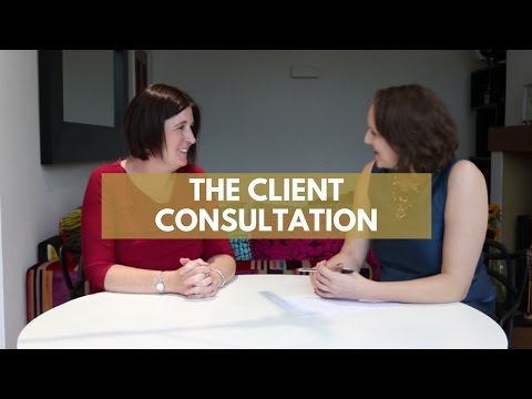 The Wedding Planning Consultation