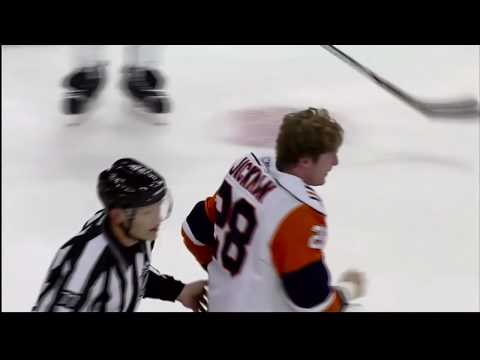 Shawn Thornton vs. Tim Jackman