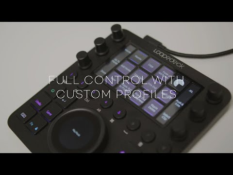 Loupedeck CT: Control any software with Custom Profiles